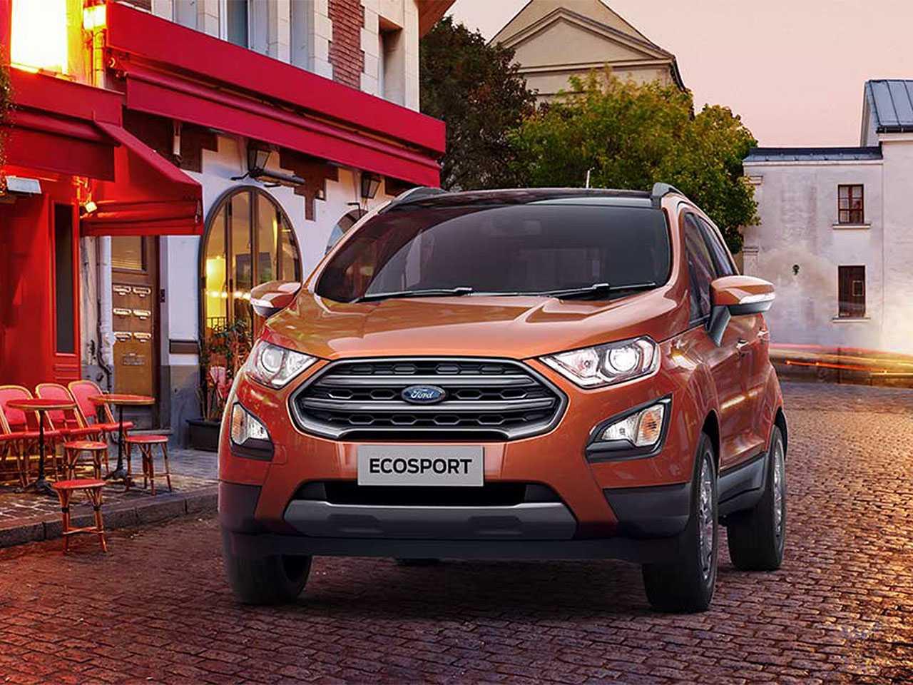 Acima detalhe do Ford EcoSport produzido na Índia