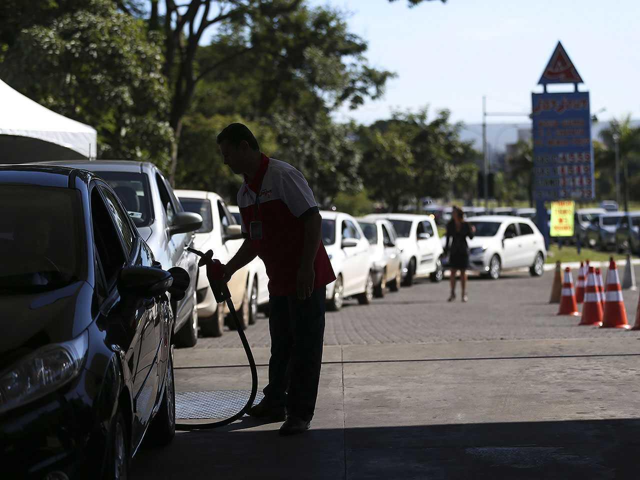 Gasolina e diesel mais caros