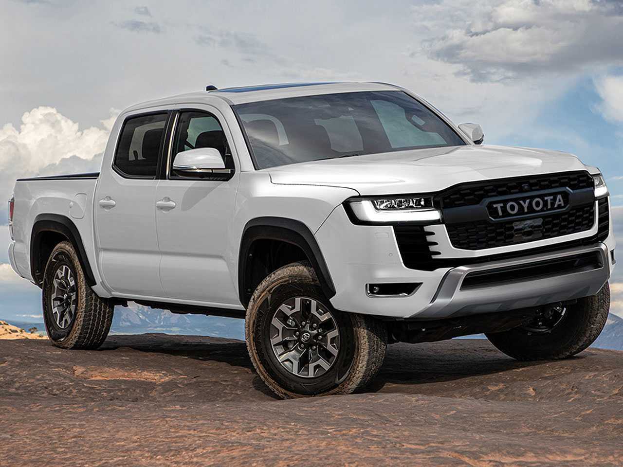 Projeção de Kleber Silva para a próxima geração da Toyota Hilux