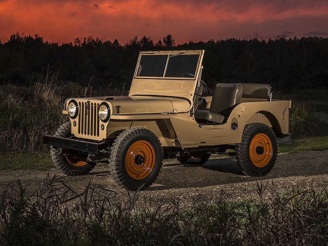 Desenvolvido na década de 1940, Jeep passou de veículo militar a um clássico off-road