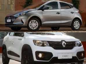 Compacto com ''embreagem confortável'': Renault Kwid ou Hyundai HB20?