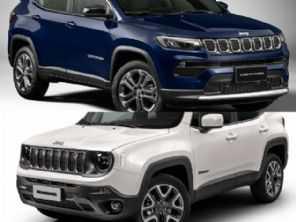 Jeep Compass 1.3 turbo flex ou um Jeep Renegade diesel?