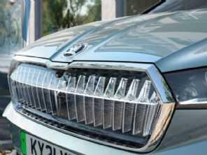 SUV elétrico da Skoda pode receber ''grade de cristal'' de R$ 12 mil