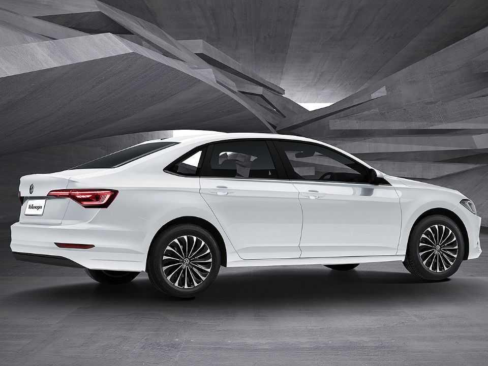 Facelift do Volkswagen Jetta segundo projeção de Kleber Silva