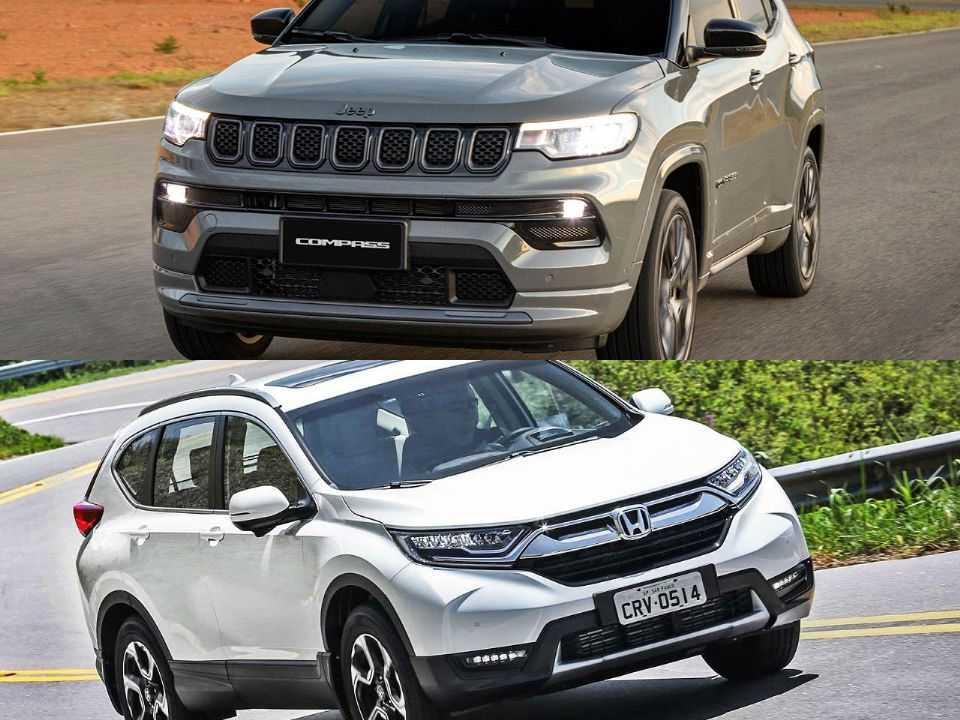 Jeep Compass e Honda CR-V