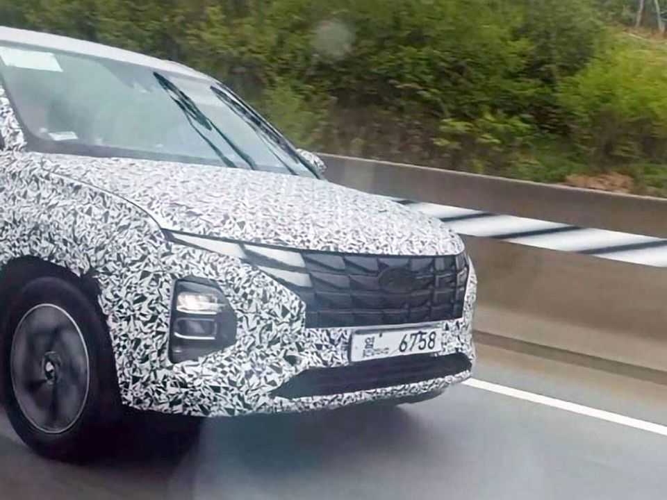 Flagra na Coreia do Sul para o facelift do Hyundai Creta