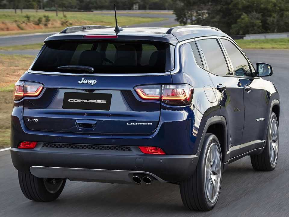 JeepCompass 2022 - ângulo traseiro