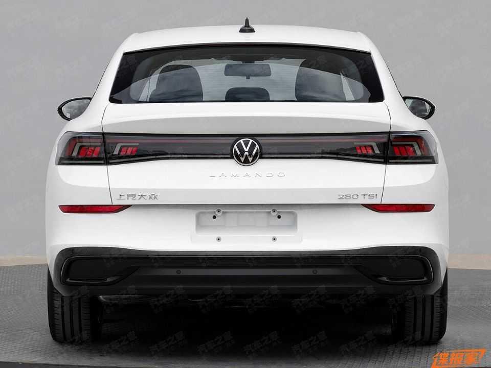 Imagem vazada da nova geração do VW Lamando chinês
