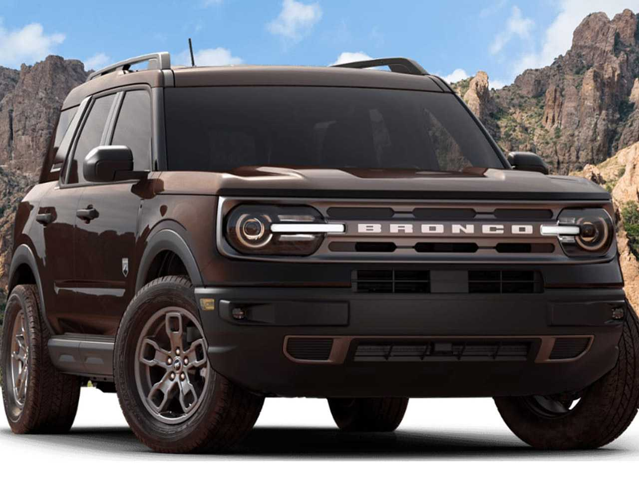 Acima o Bronco Sport Big Bend com motor 1.5 turbo vendido na Argentina