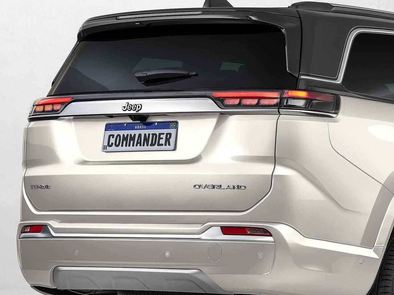 Jeep Commander vai inaugurar a versão Overland em um SUV nacional da marca