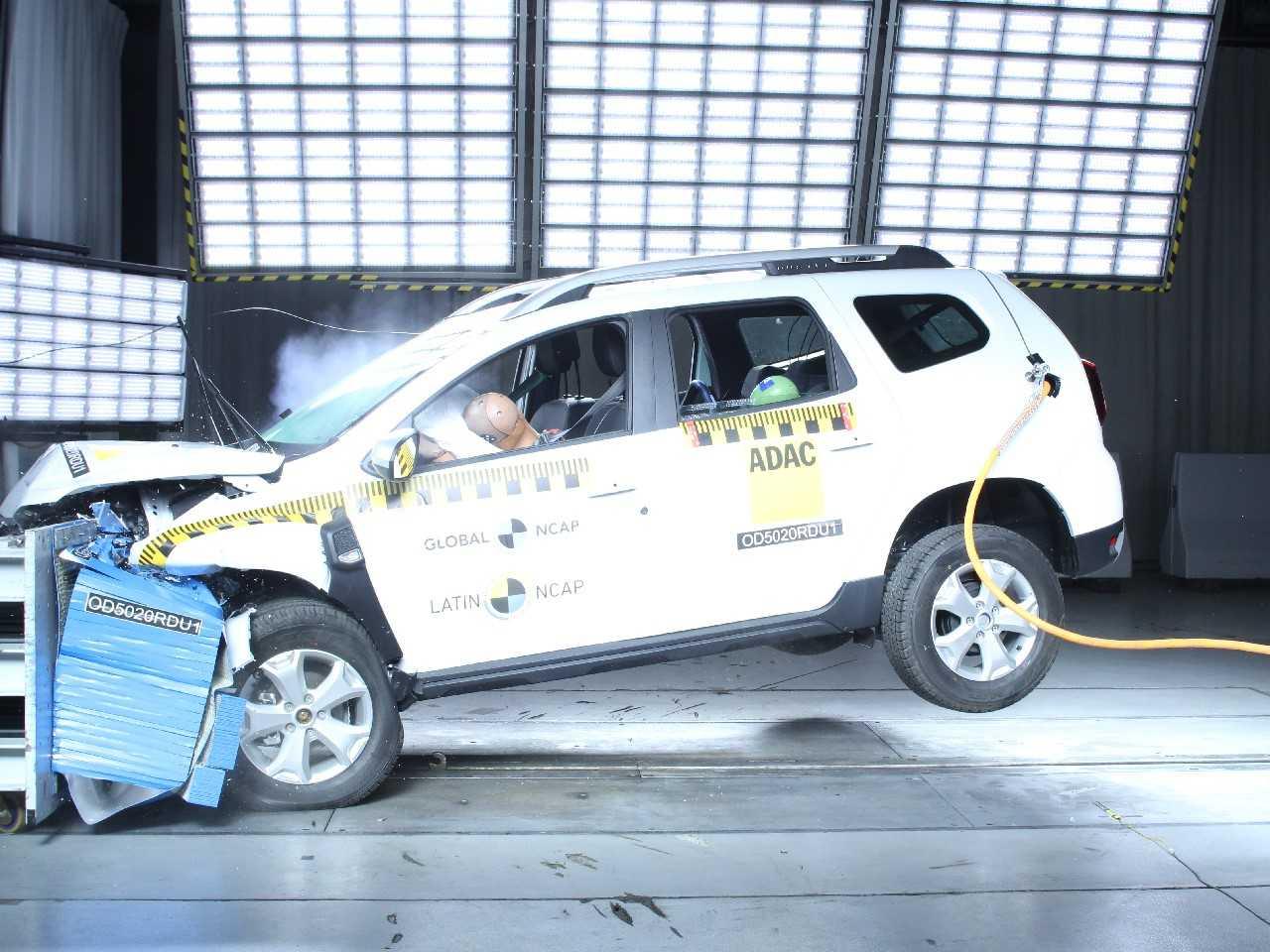 O Duster no novo teste do Latin NCAP: de quatro para zero estrelas