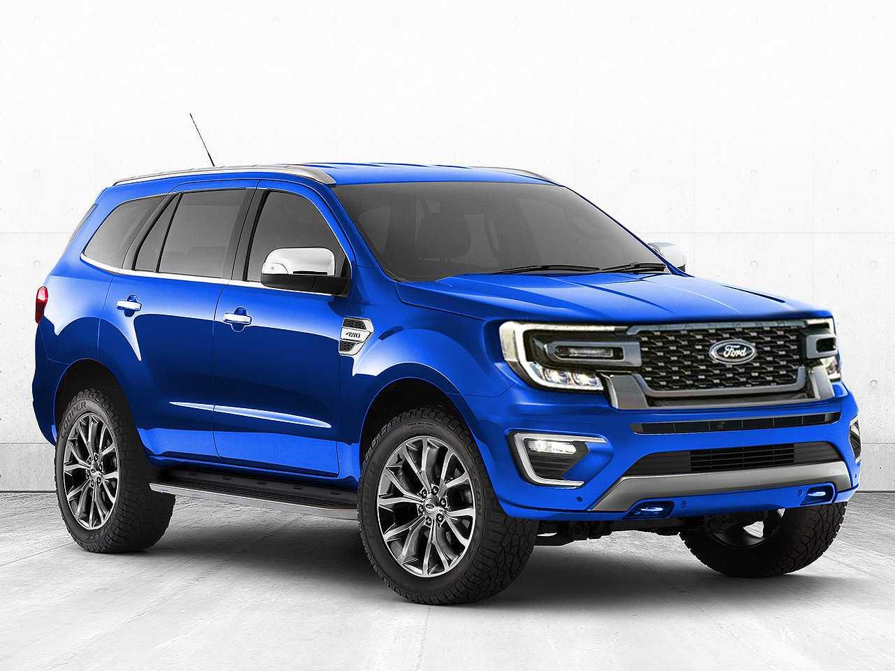 Projeção de Kleber Silva para a próxima geração do Ford Everest