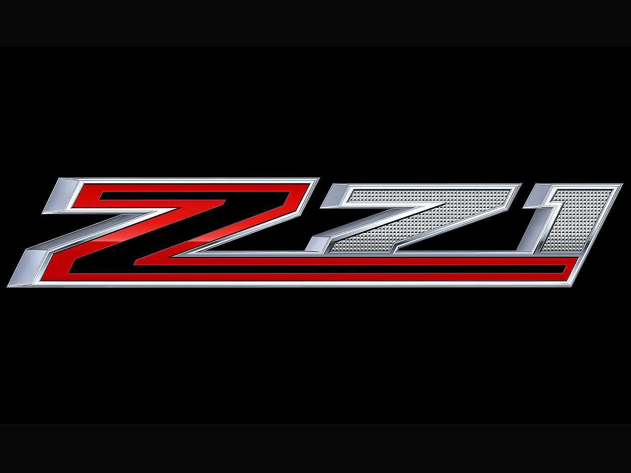 Detalhe do logotipo Z71 que vai figurar na nova versão da Chevrolet S10 no Brasil