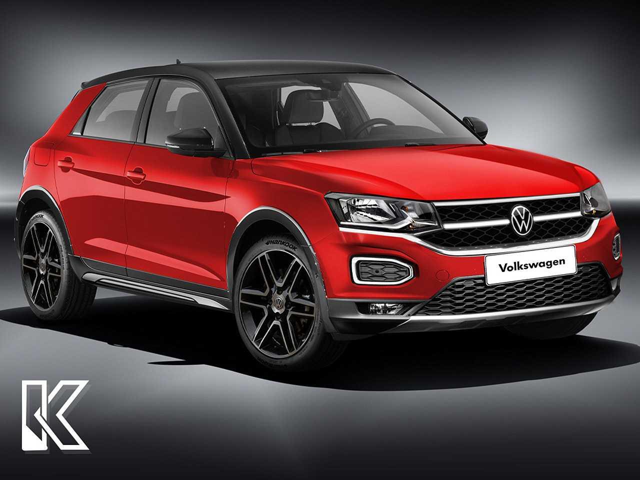 Projeção de Kleber Silva para a próxima geração do VW Gol com a proposta crossover