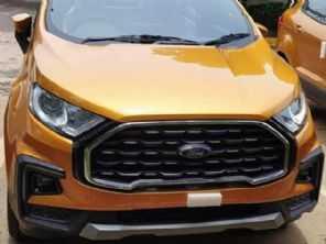 Facelift para o Ford EcoSport é flagrado na Índia