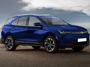 Chevrolet registra patentes de versão elétrica do Equinox