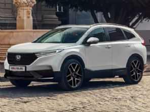 Novo Honda CR-V deve estrear em 2022 com estilo mais refinado