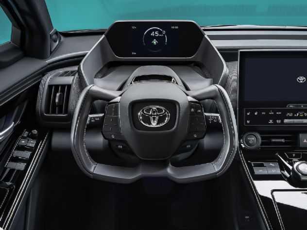 Toyota registra volante e painel futuristas no Brasil