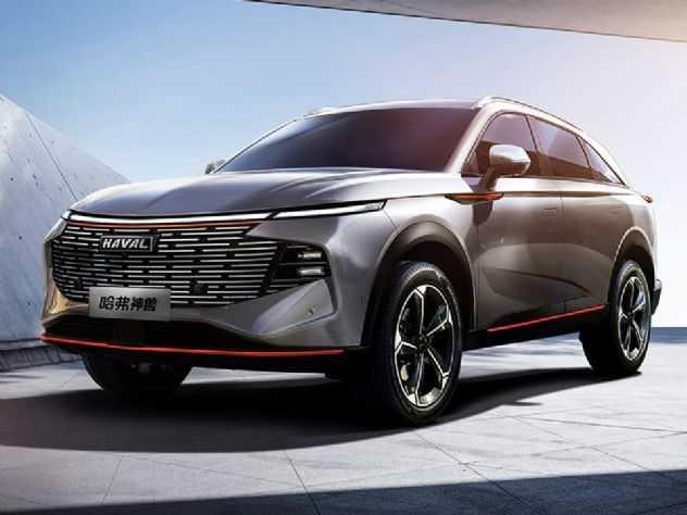 Confirmada para o Brasil, Great Wall revela seu SUV topo de linha