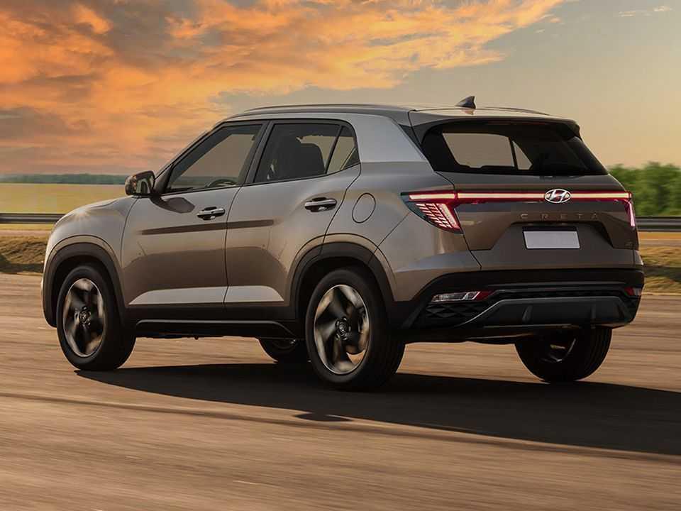 Projeção de Kleber Silva para o facelift do Hyundai Creta