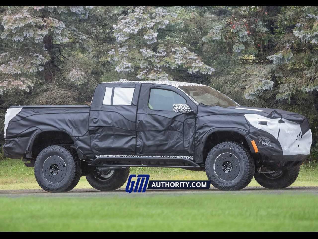 Nova Chevrolet Colorado já está em testes nos EUA
