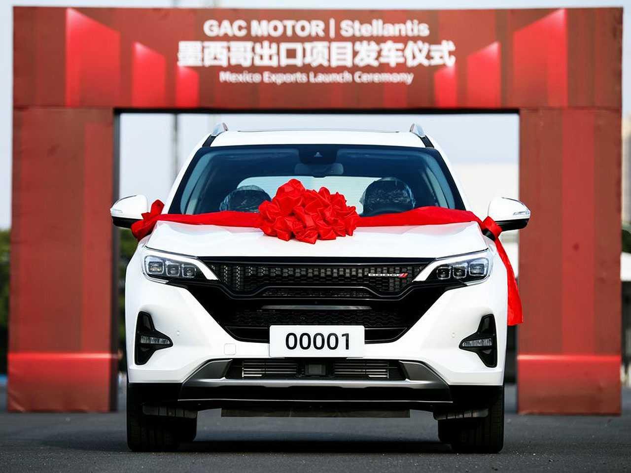 Primeira unidade do novo SUV da Dodge produzido na China com destino ao mercado mexicano