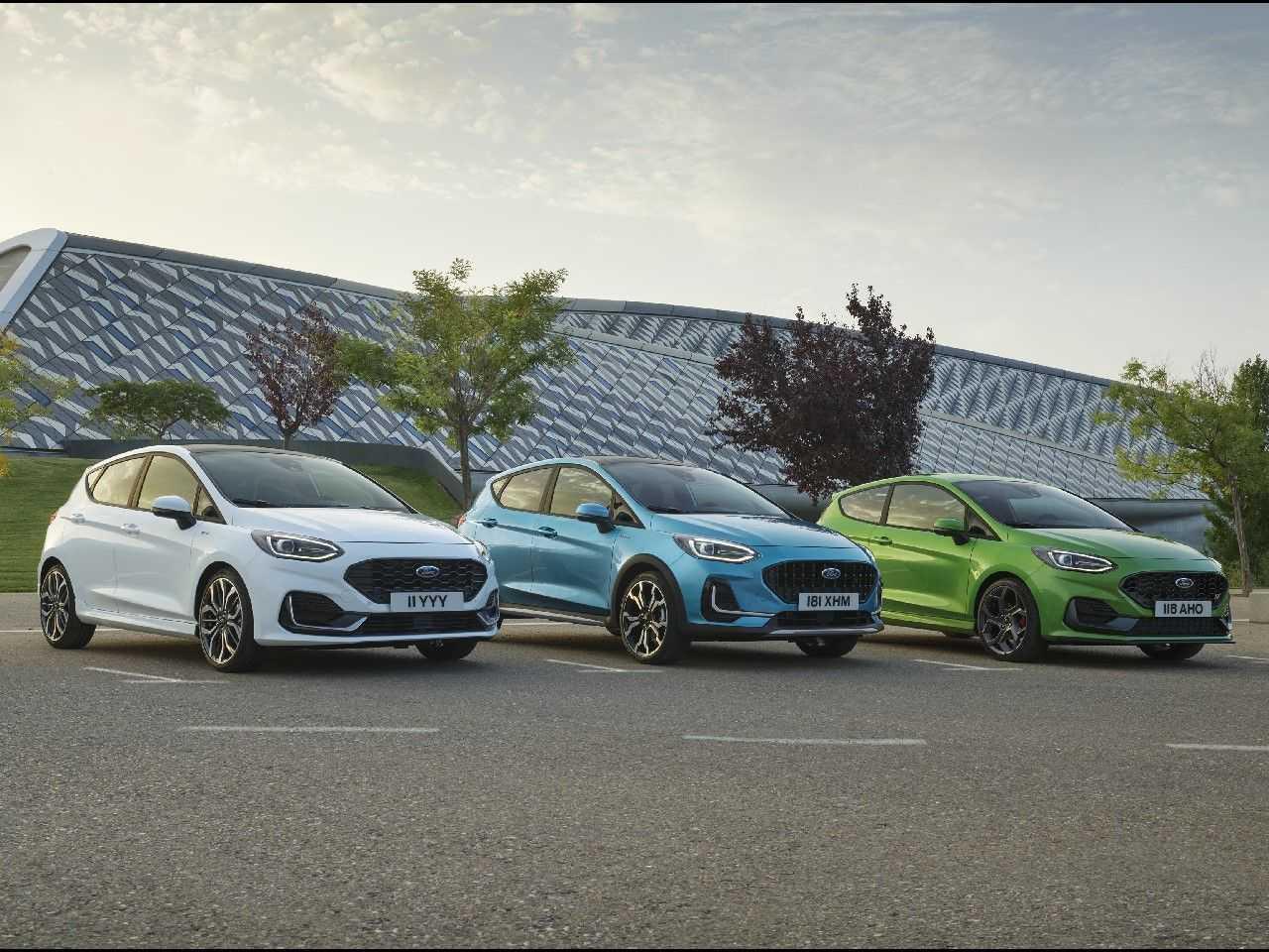 Ford Fiesta ganha leve mudança no visual para a Europa