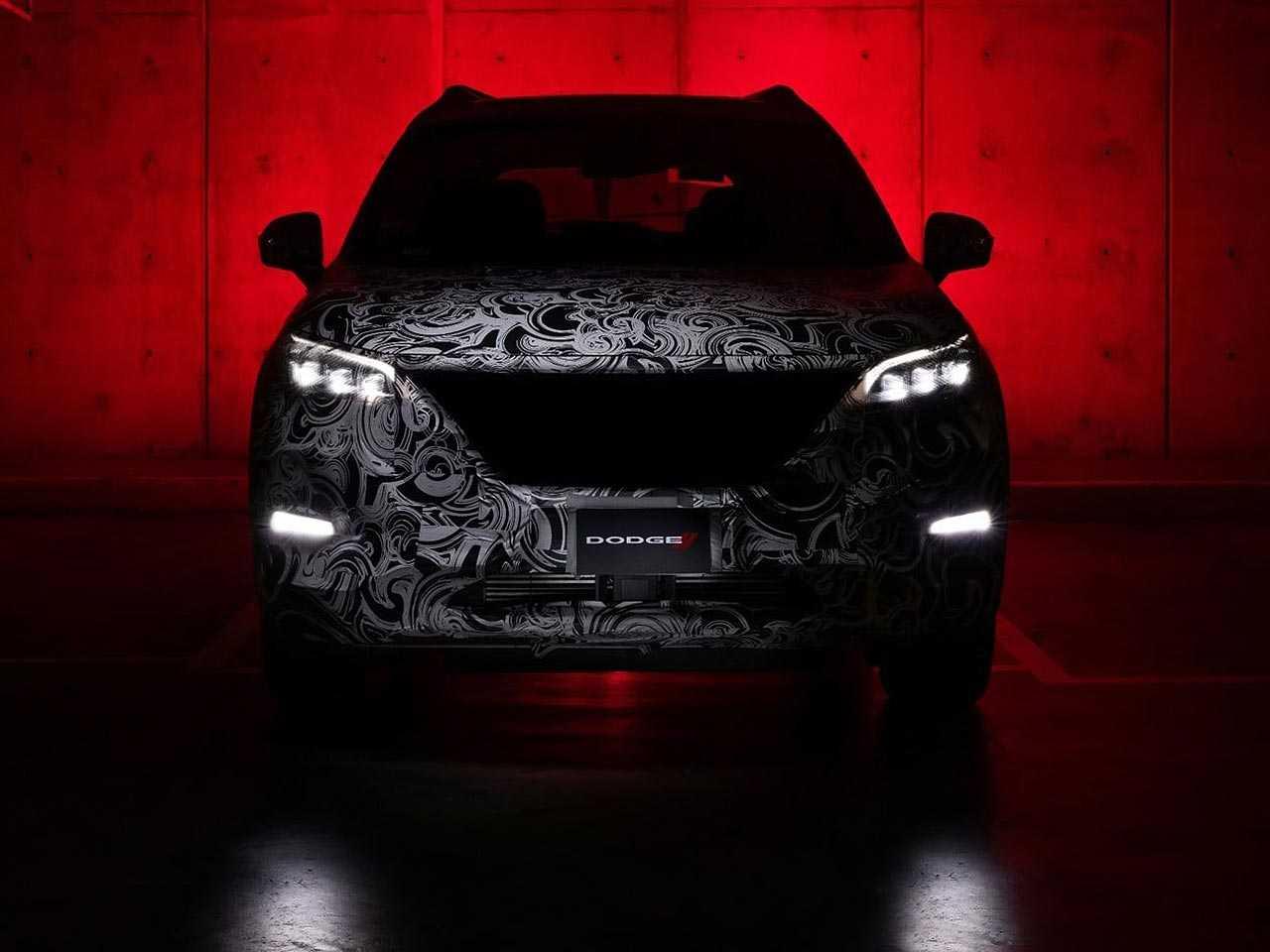 Detalhe do SUV que a Dodge lançará no México: modelo é baseado no chinês GAC GS5