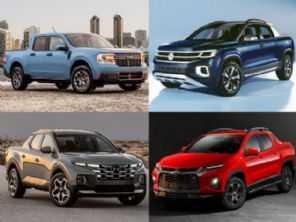 Ford Maverick, VW Tarok, Chevrolet Montana e Hyundai Santa Cruz: como encarar a Fiat Toro?