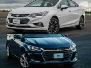 Chevrolet Cruze LTZ completo 2017 ou um Onix LT 2021?