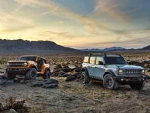 Ford Bronco manual 7 marchas já responde por 25% das vendas