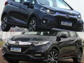 Dúvida na gama Honda: optar por um WR-V EXL ou um HR-V LX?