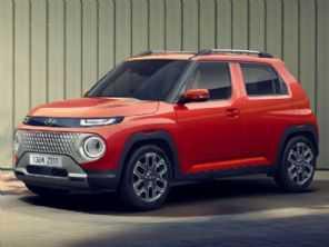Mini-SUV da Hyundai, Casper mira público do Kwid