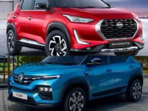 Renault Kiger vs. Nissan Magnite: duelo de ''mini SUVs''pode se repetir no Brasil
