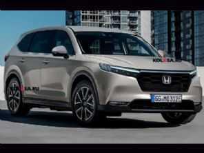 Nova geração do Honda CR-V deve ter apenas versões eletrificadas