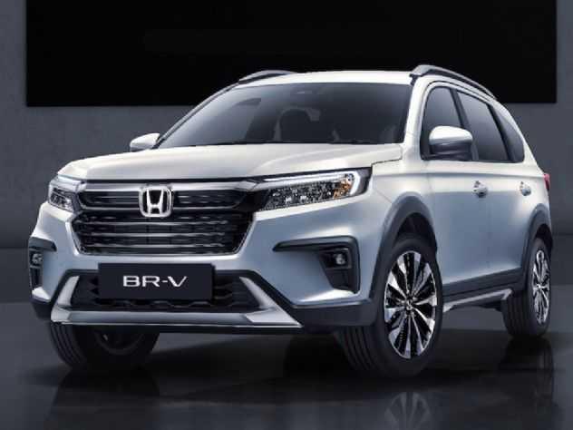 Derivado do City, novo Honda BR-V é revelado