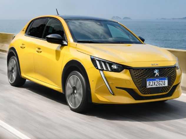 Hatch 100% elétrico, Peugeot e-208 GT começa a ser vendido por R$ 244.990
