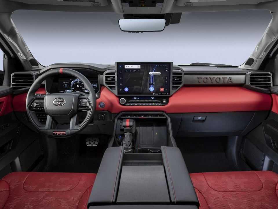 Toyota Tundra 2022 é revelada nos EUA