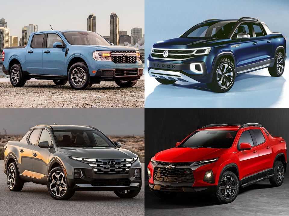 Ford Maverick, Volkswagen Tarok, Hyundai Santa Cruz e a projeção de Kleber Silva para a nova Chevrolet Montana