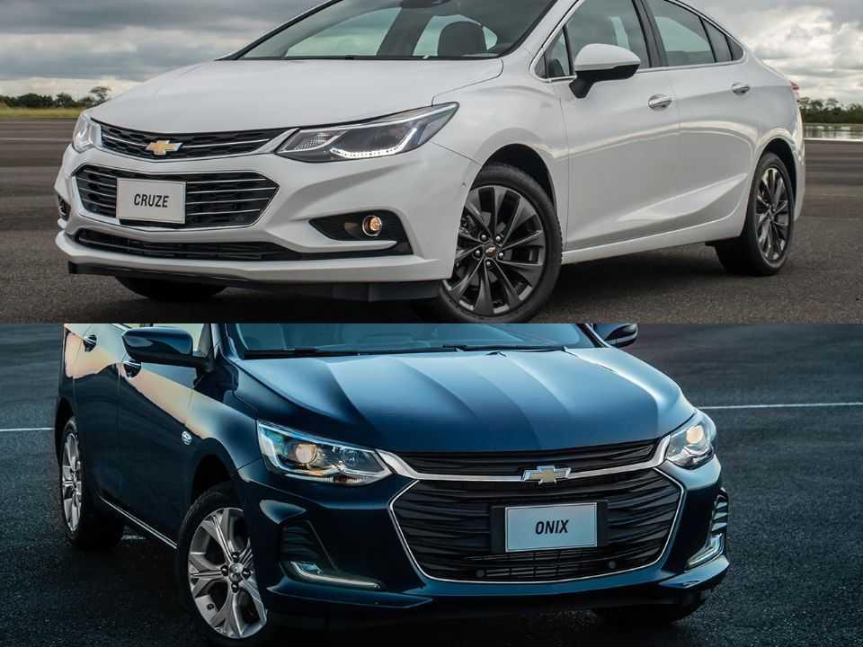 Dúvida entre modelos da Chevrolet: Cruze ou Onix?