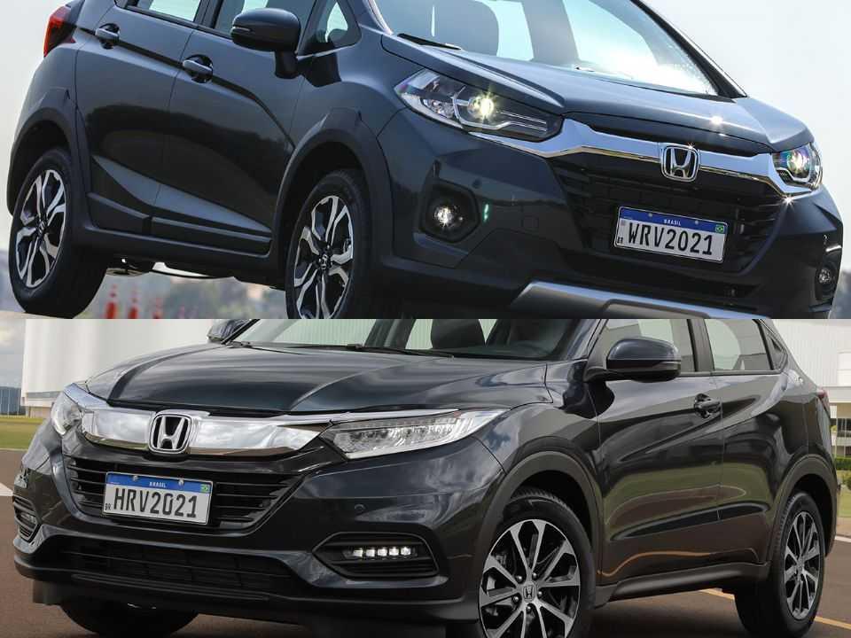 Honda WR-V e Honda HR-V